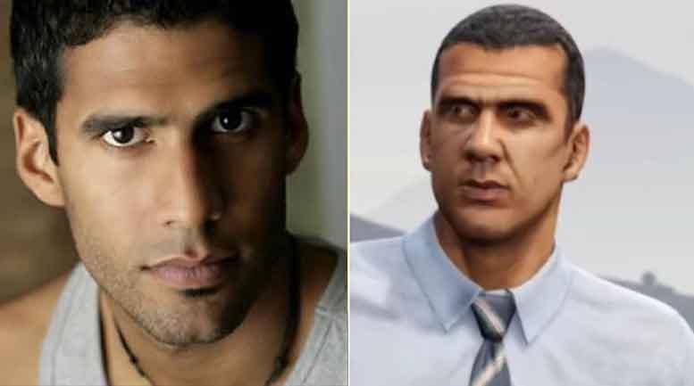 GTA V Karakterleri Abdel Gonzales - Andreas Sanchez