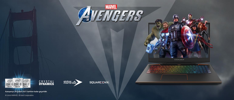 Marvel's Avengers oyunu hediye!