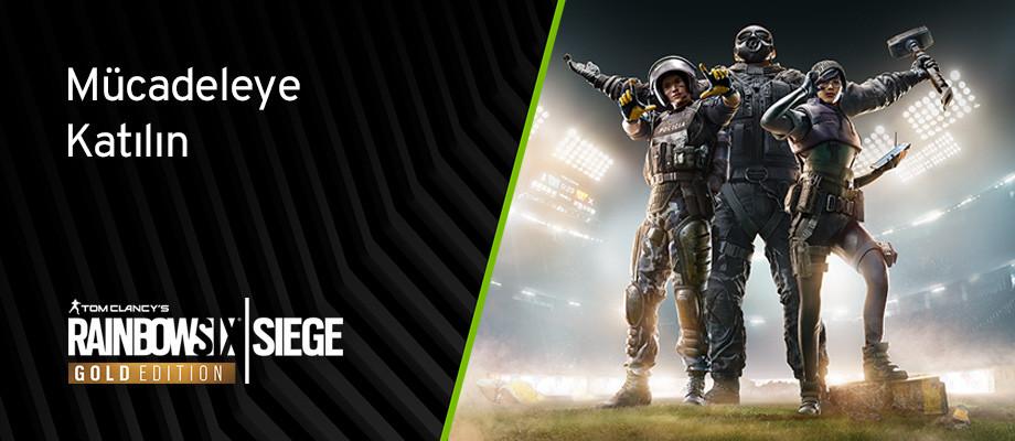 Nvidia Rainbow Six Siege Gold kampanyası