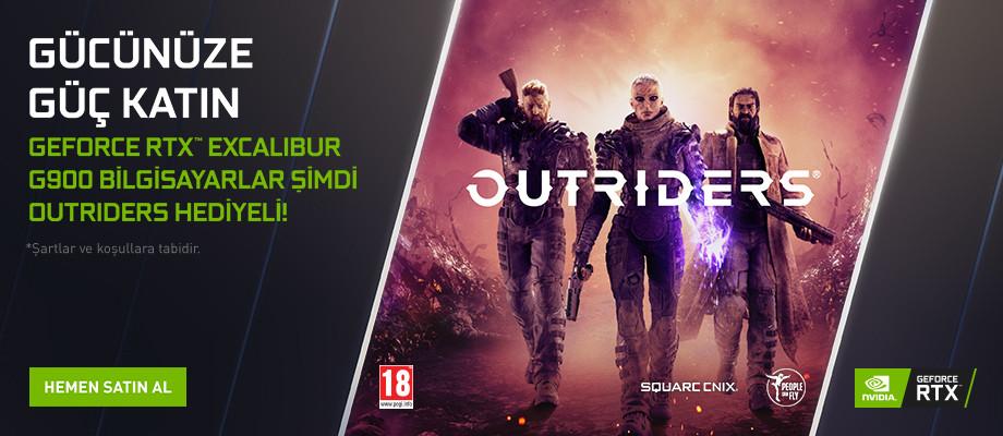 Nvidia Outriders Kampanyası
