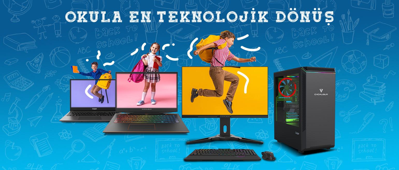 Okula En Teknolojik Dönüş